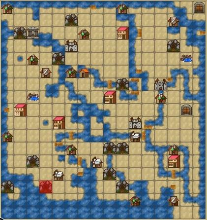 ワールドマップ封印の洞窟